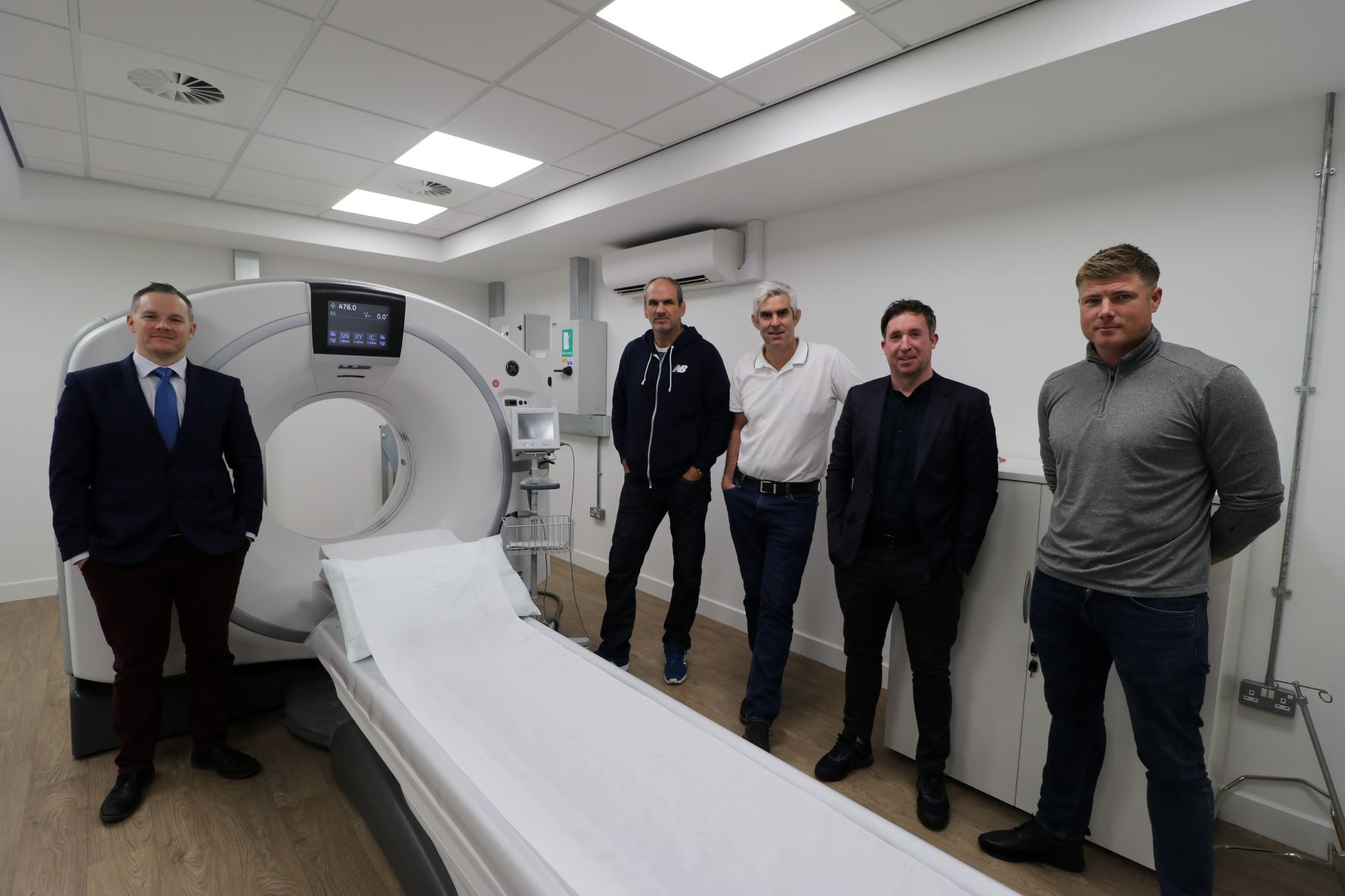 Sporting legends undergo cutting edge heart screening checks on World Heart Day
